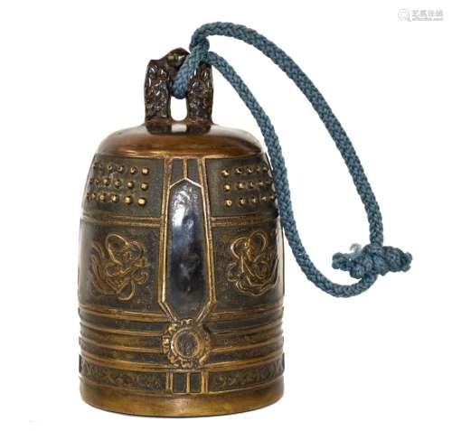 Chinese Bronze Ritual Bell