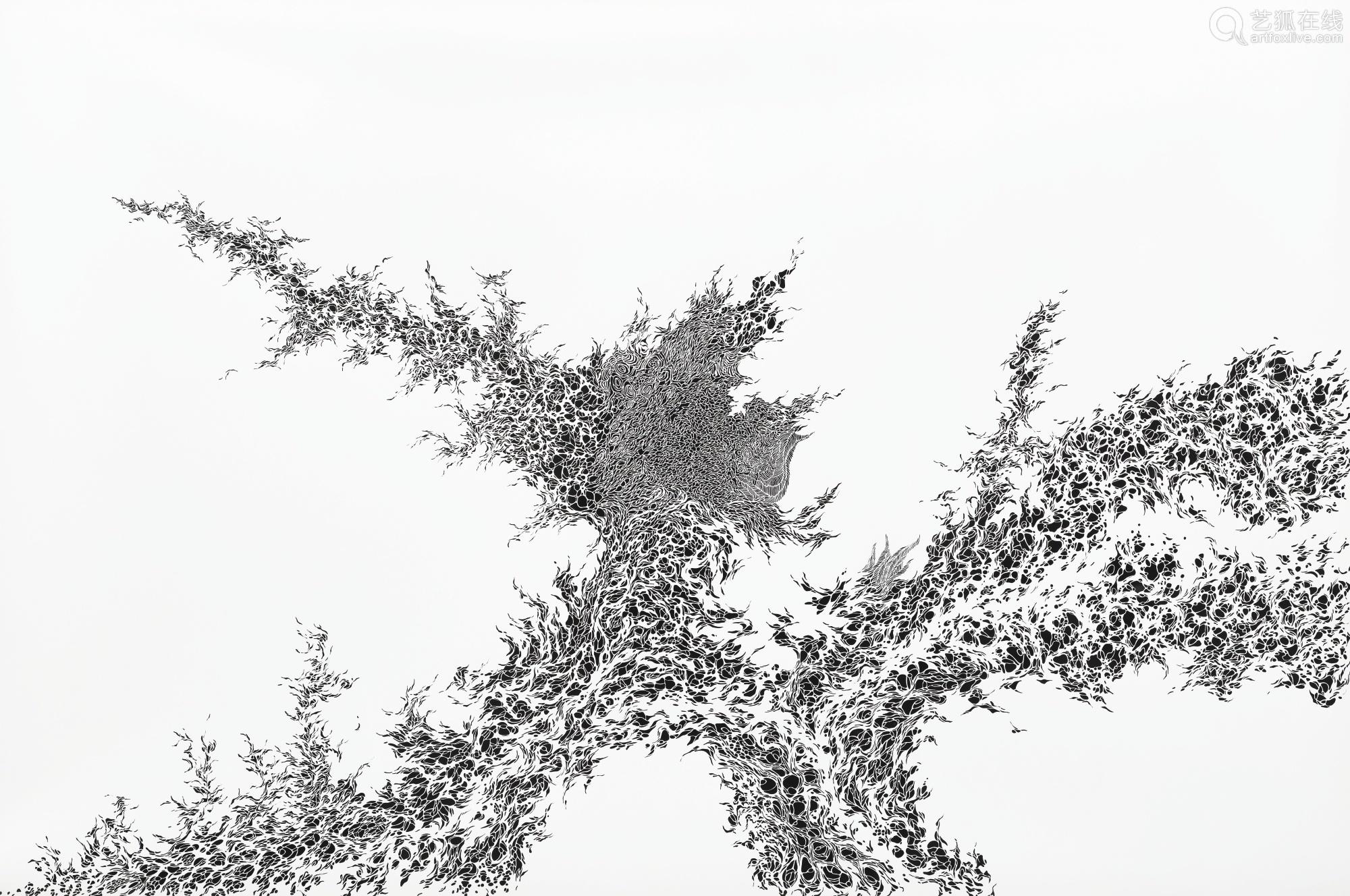 塩保朋子 二〇一〇年作 SPROUT 合成纤维纸