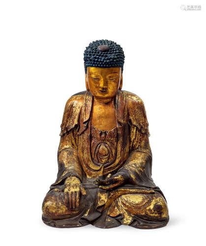 明代 释迦牟尼坐像