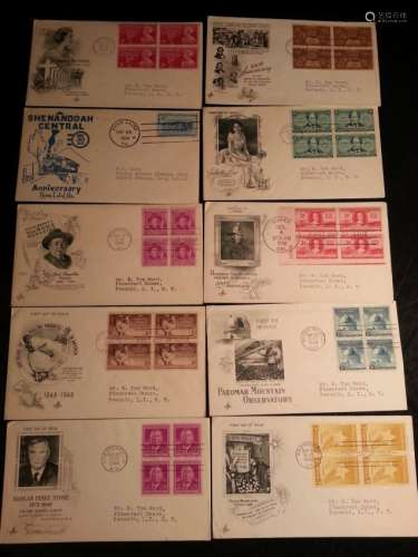 U S A FIRST DAY ISSUE STAMPS