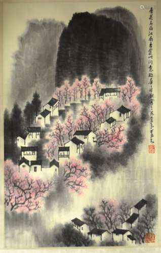 Li, Kerang Chinese Painting Scroll