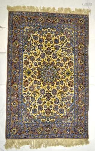 Persian  Isphahan Hand Made Rug