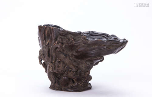 A Chinese Hardwood Cup