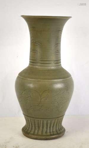 Chinese Longquan Celadon Vase