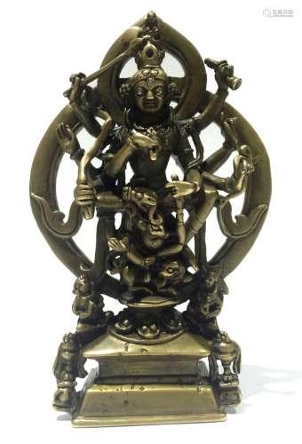 Chinese Bronze Buddha Figure
