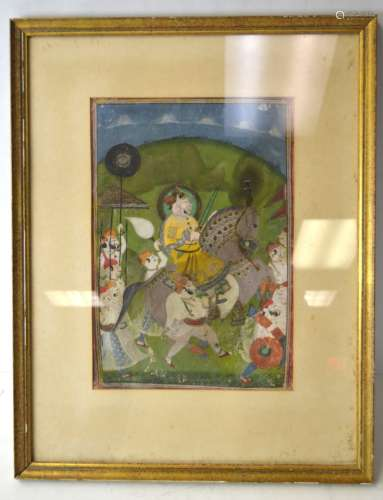 18/19th Cen. Indian Miniature Painting