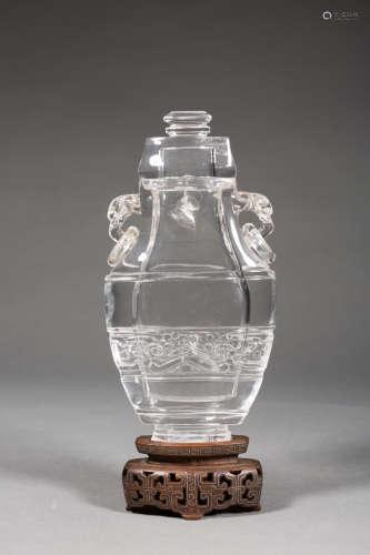 清 水晶瓶