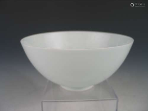 Chinese yingqing porcelaon bowl, marked.