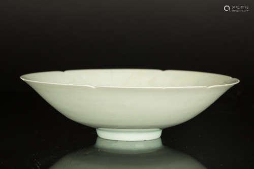 北宋 湖田窑影青牡丹纹碗