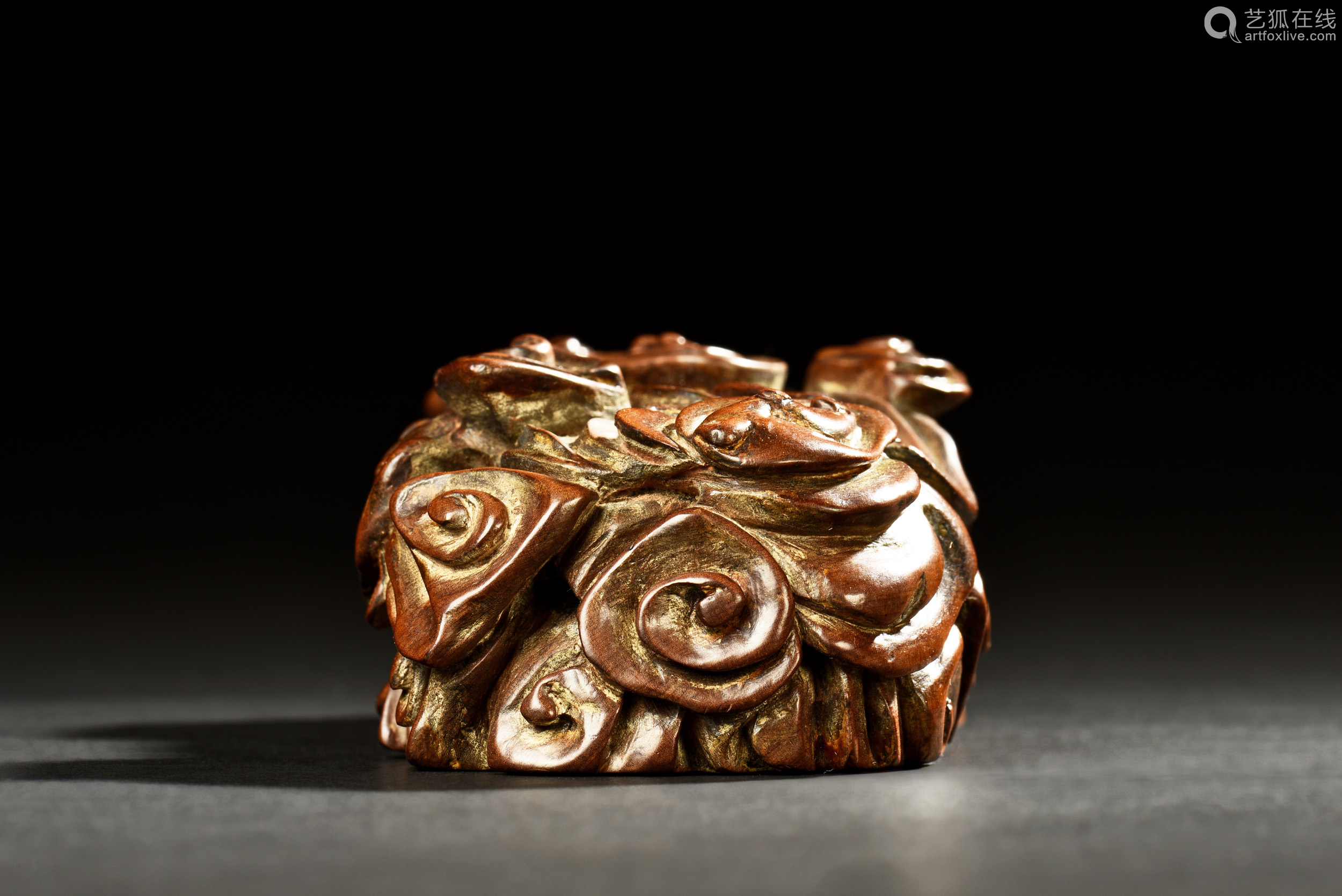 Jinsinan wood carved paper weight-【deal price picture】