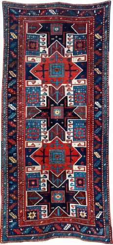 Star Kazak 'Long Rug' Gendje,