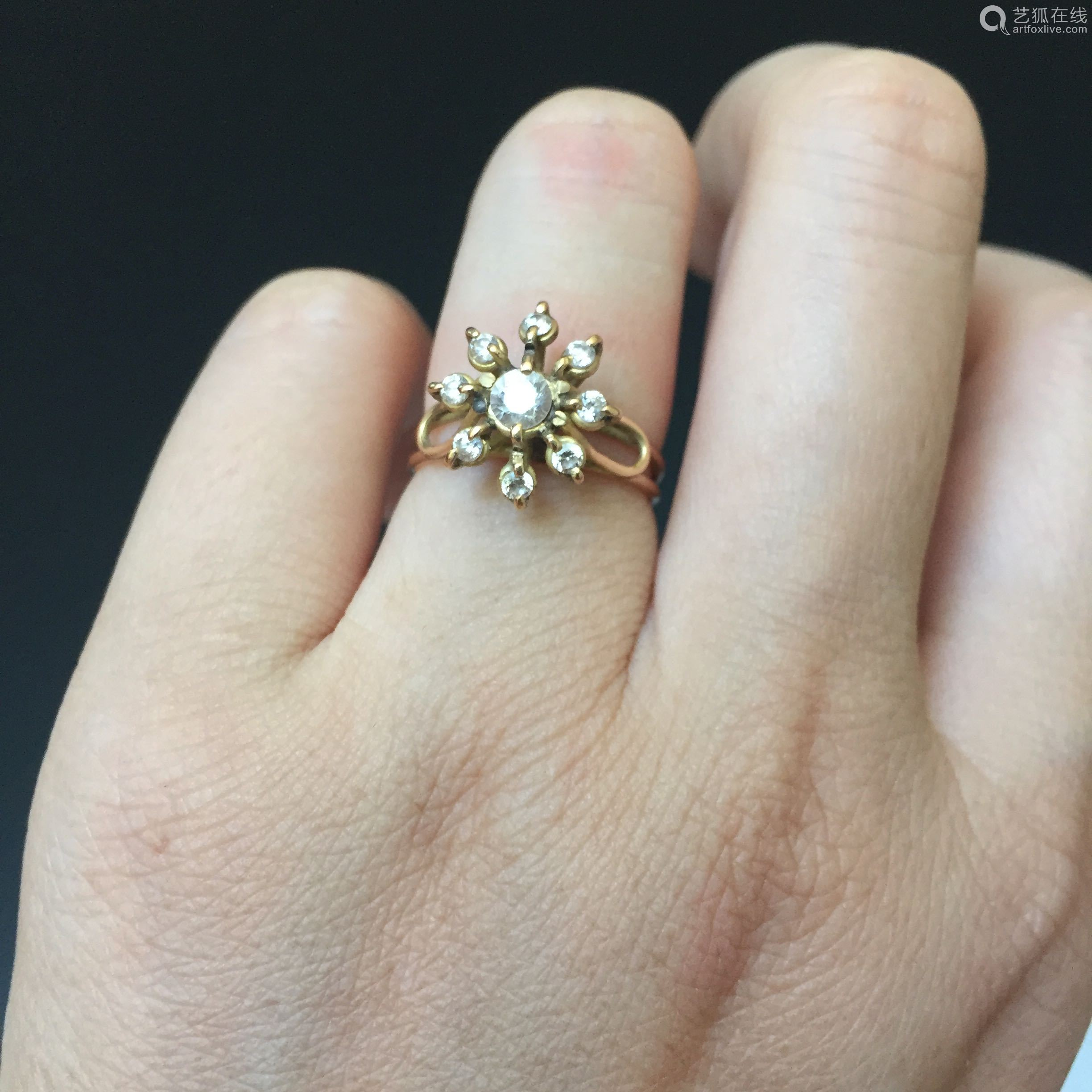 14k Gold Ring-【deal Price Picture】