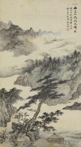吴湖帆 1894-1968 罢钓晚归