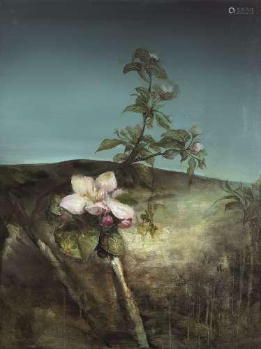 王德磷(b.1990) 那时花开系列2 镜心 布面油画