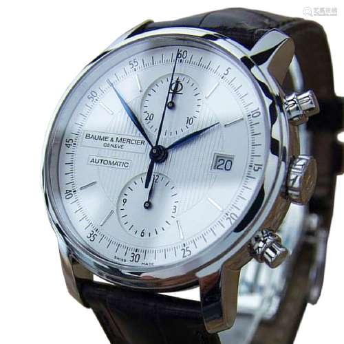 *Baume Mercier Men Classima XL Cronograph Swiss Made