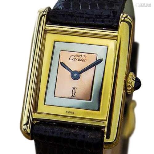 *Cartier Trinity Ladies Swiss Luxury 925 Silver Manual