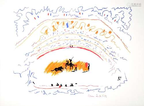 PABLO PICASSO (After) Corrida Print, 50 of 500