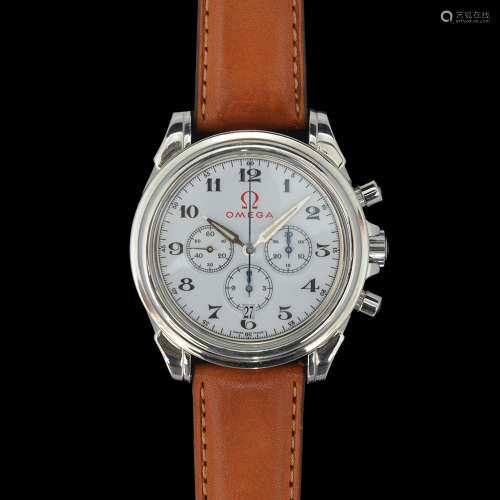 OMEGA, DEVILLE OLYMPIC 1960 ROME CO-AXIAL WRISTWATCH