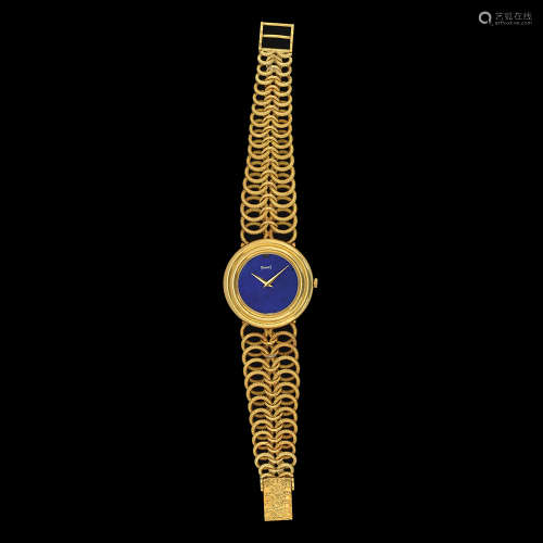A PIAGET, 18K GOLD WRISTWATCH