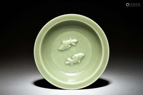LONGQUAN WARE 'FISH' DISH