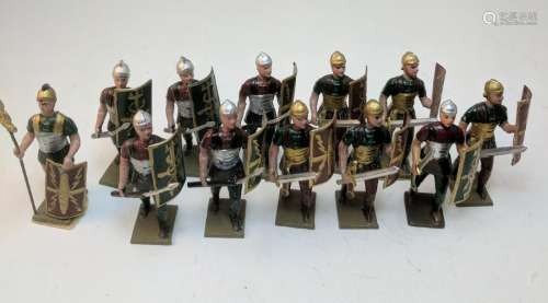 Mignot Romans with Spears and Swords