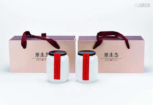"""2007年 福鼎""""太姥杯白茶五大奖赛""""金奖白牡丹二罐 共500g"""