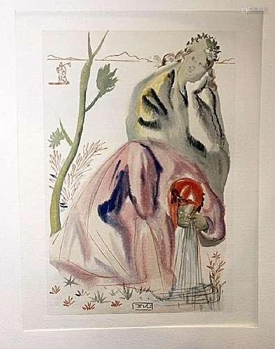Dali - Purgatory Canto 21 - The Divine Comedy