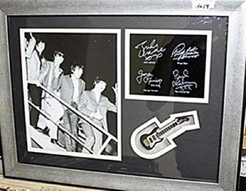 The Beatles Giclee Bearing signatures AR5744