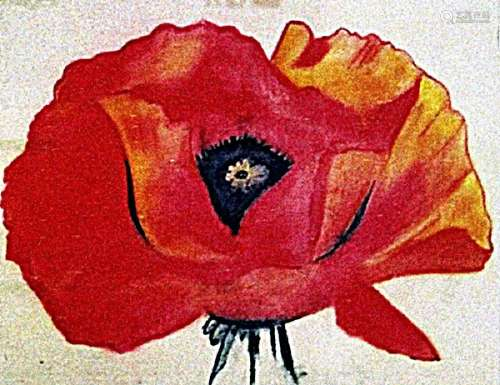 Georgia Okeeffe - The Flower