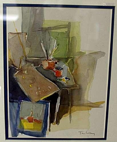 """""""IN THE STUDIO"""" by ITZCHAK TARKAY"""