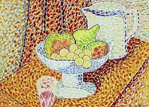 Still Life - Jean Metzinger - Watercolor