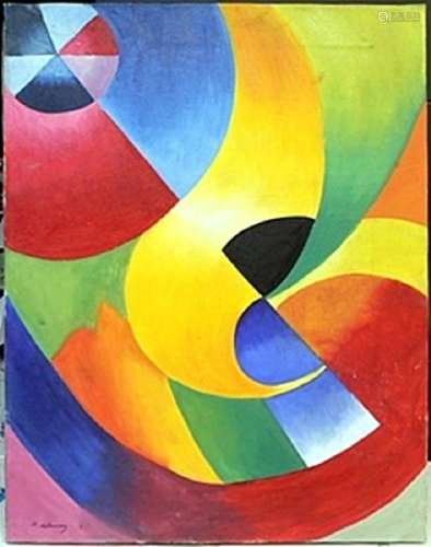 Oil Painting on Canvas -  Robert Delaunay