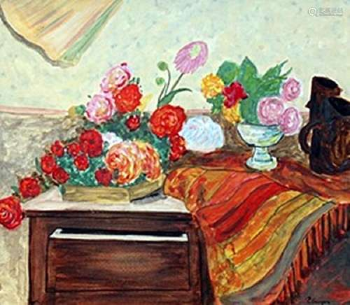 Still Life - Paul Gauguin - Watercolor On Paper