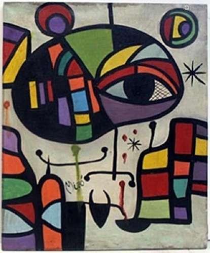 """""""El Ojo"""" (Eye) -  Joan Miro"""