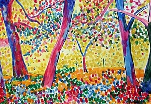 The Jungle - Andre Derain - Watercolor On Paper