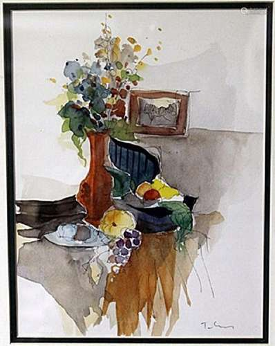 """""""FRUITS AND FLOWERS"""" by ITZCHAK TARKAY"""