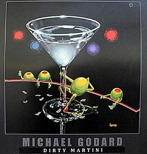 """Dirty Martini""  after Michael Godard"