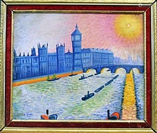 Oil Painting on Canvas -  Andre Derain