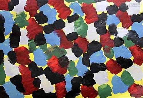 The Night - Bradley Walker - Oil On Paper