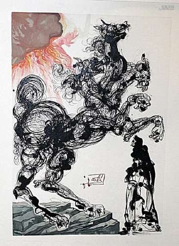 Dali - Hell Canto 6 - The Divine Comedy