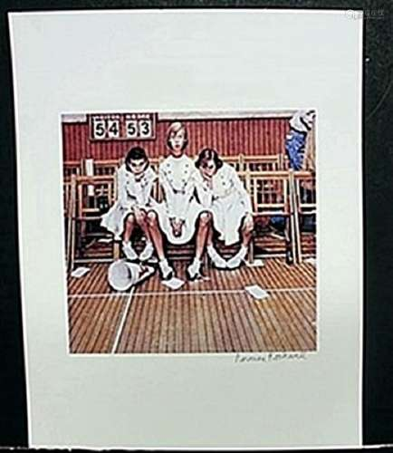 "Lithograph ""Losing the Game""  Norman Rockwell"