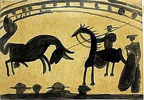 Gouache on Paper -  Pablo Picasso