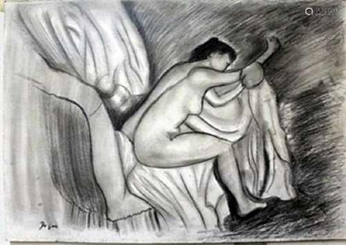 Pastel Painting on Paper -  Edgar Degas