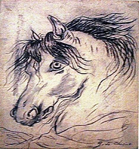Giorgio De Chirico - The Horse