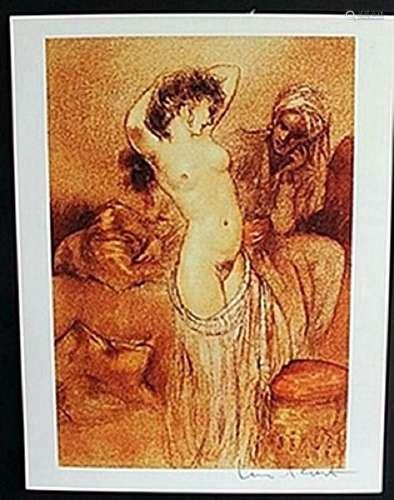 """Lithograph """"Seductive Dance""""  Louis Icart"""