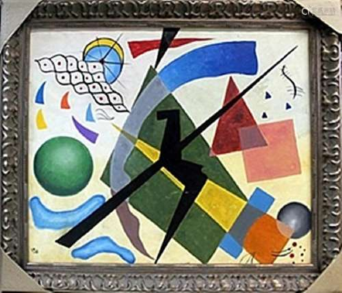 Oil Painting on Canvas - Wassily Kandinsky