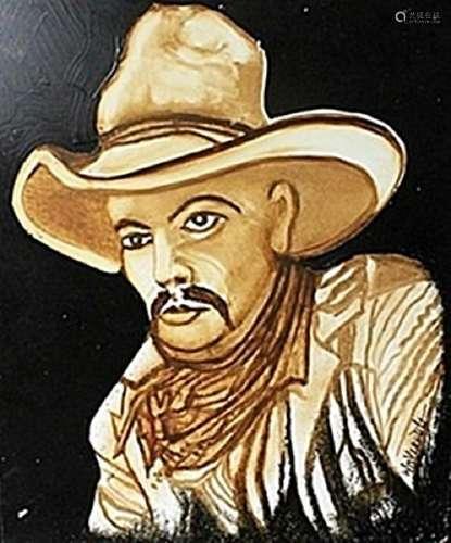 """""""Wrangler"""" Original Oil Painting   William Verdult"""