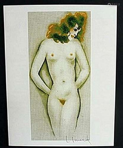 "Lithograph ""Little Breast""  Louis Icart"