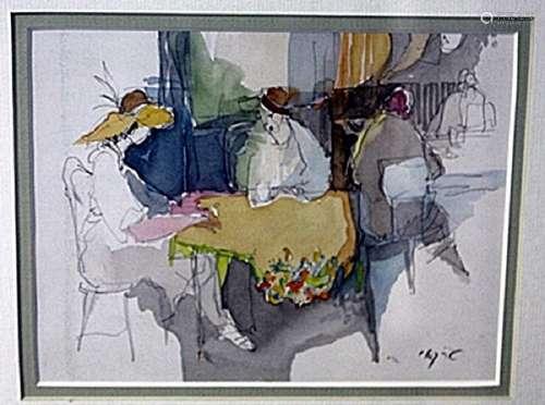 """AFTERNOON REPARTEE"" by ITZCHAK TARKAY"
