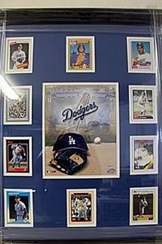 Dodgers Framed Collectible